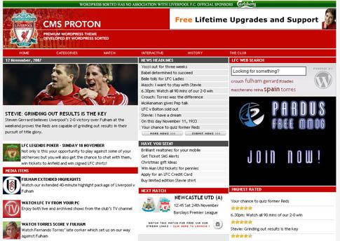 CMS Proton WordPress Theme