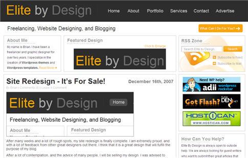 Elite By Design Professional Premium Theme