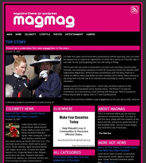 MagMag WordPress Theme