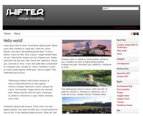 Shifter Premium Magazine Theme