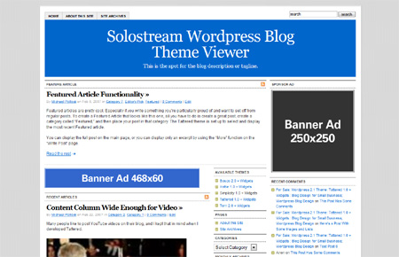Simplicity 1.0 Premium WordPress Theme