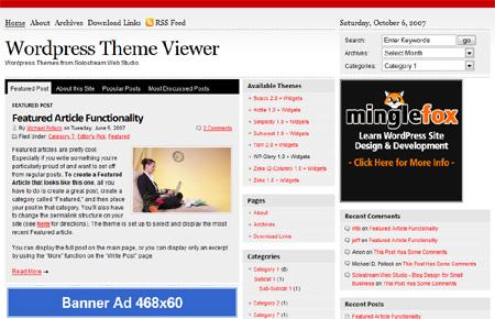 WP Glory 1.0 Premium WordPress Theme