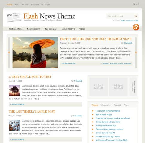 Flash News Theme