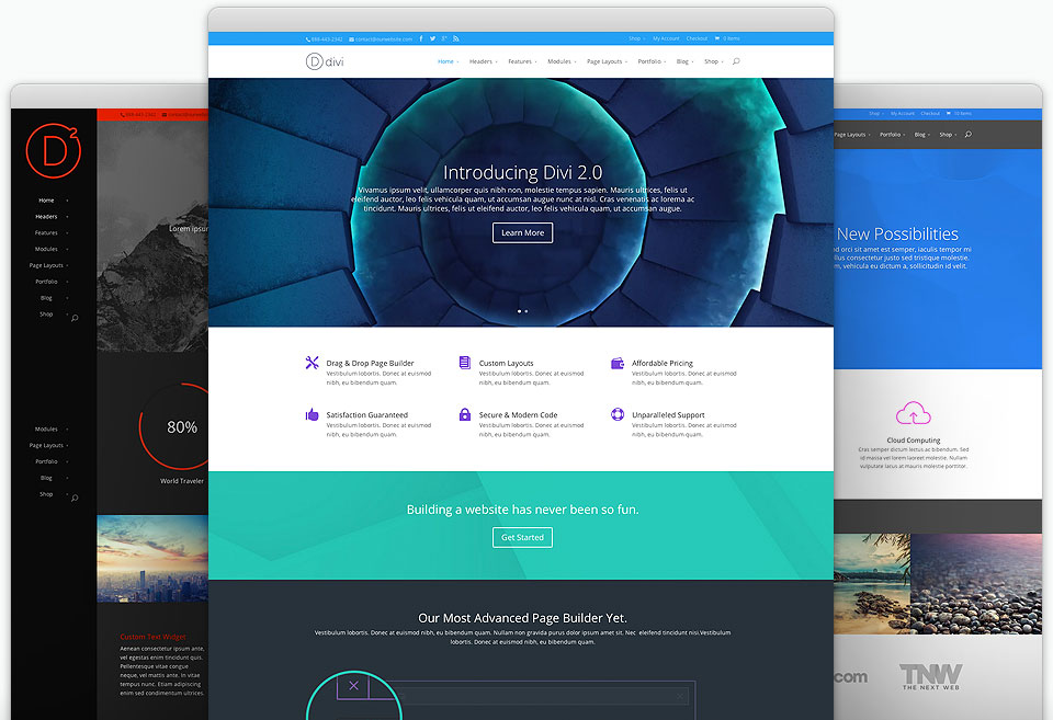 40 best corporate business wordpress themes 2018 divi theme cheaphphosting Image collections