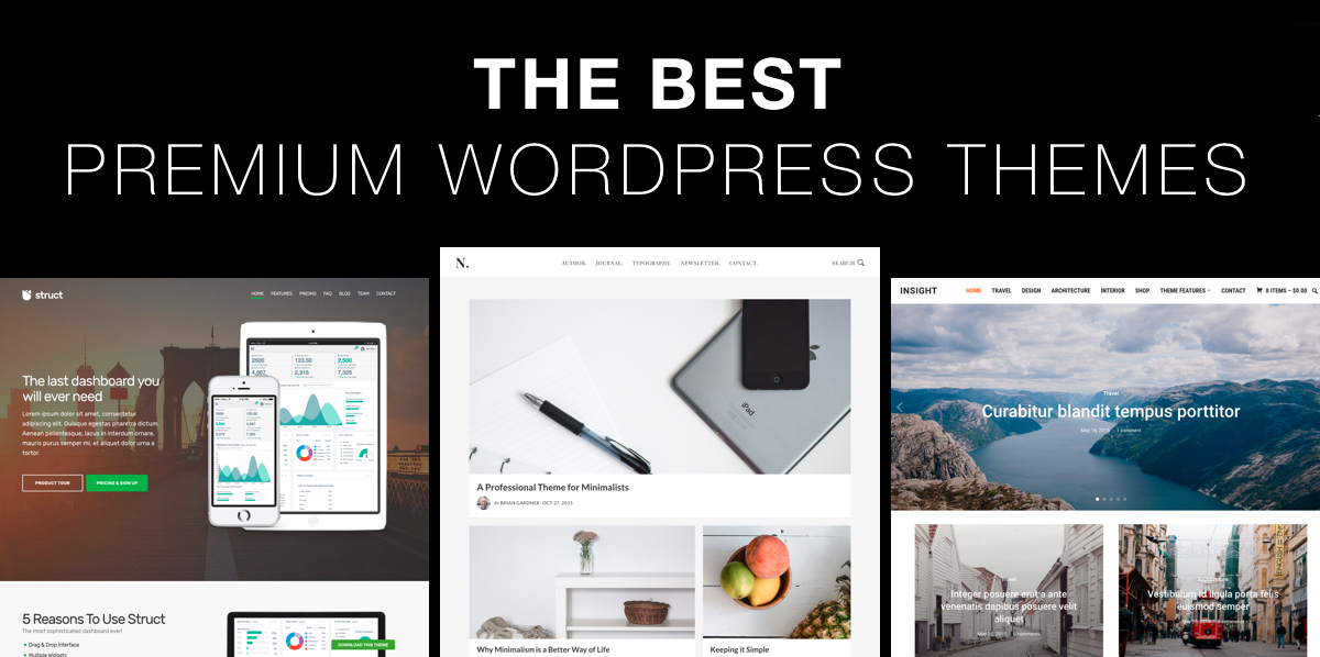 The Best Premium WordPress Themes of 2018