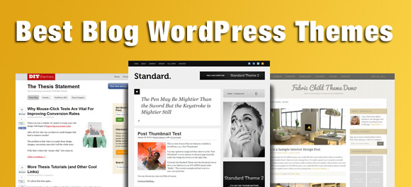 best blog wordpress themes