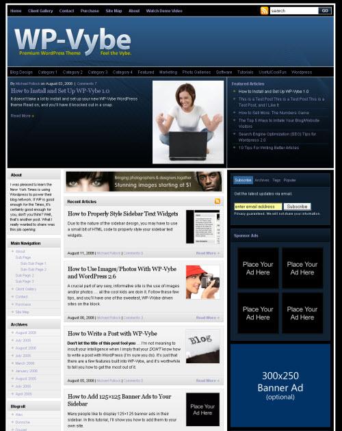 Win a Premium WordPress Theme from Solostream