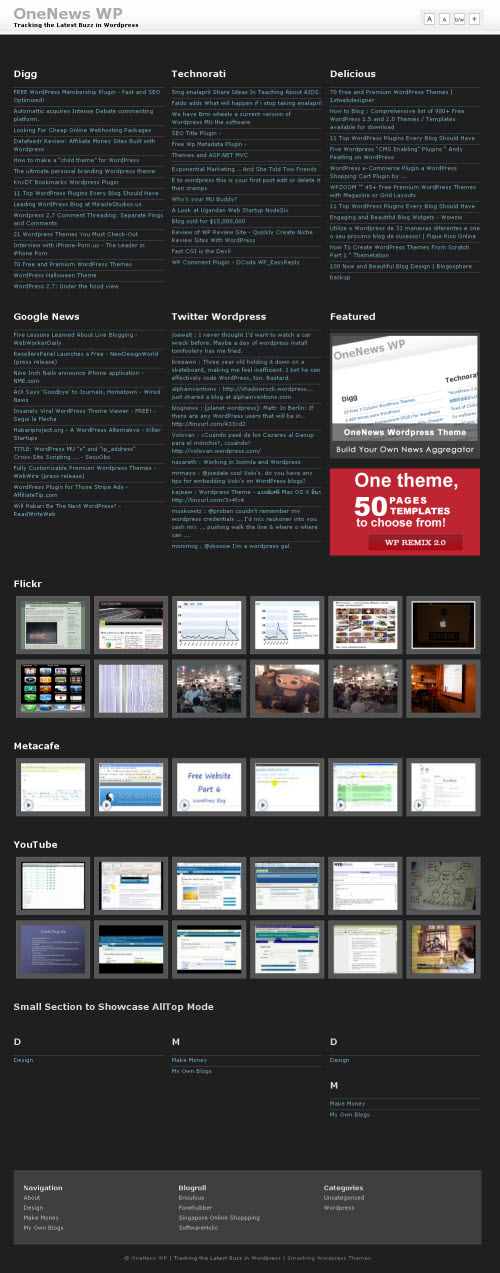 One News Theme Wordpress - Themes Seo