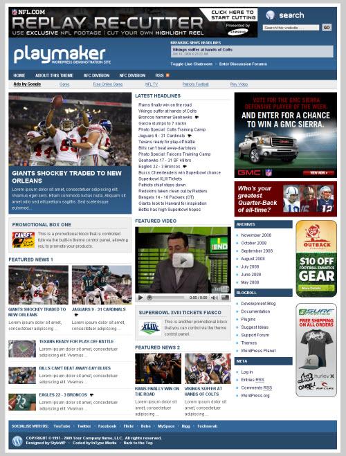 Enchanting News Portal Wordpress Theme Ornament - Resume Ideas ...