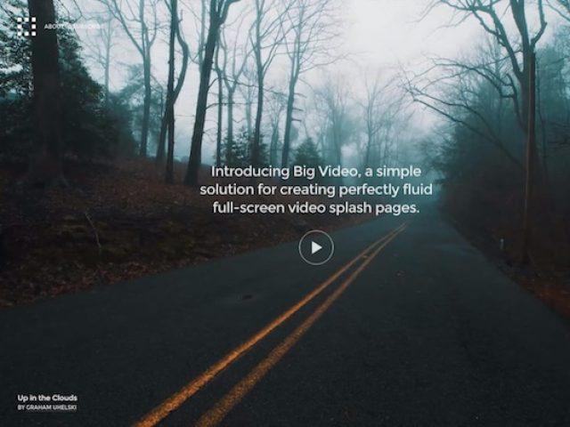 Big Video WordPress Theme