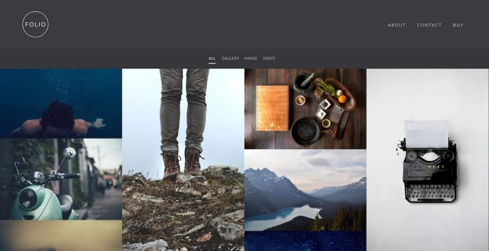 Best Portfolio & Photography WordPress Themes