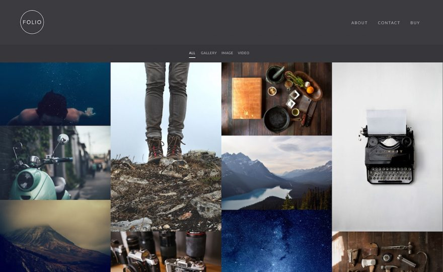 Best Portfolio & Photography WordPress Themes