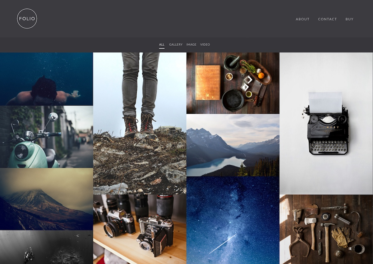 best portfolio photography wordpress themes