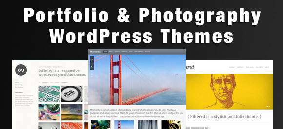 best portfolio and photography wordpress themes