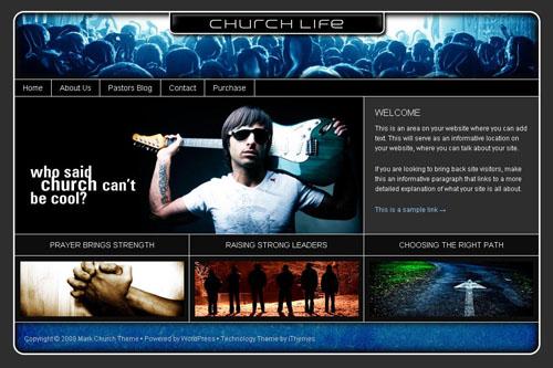 chuch life theme