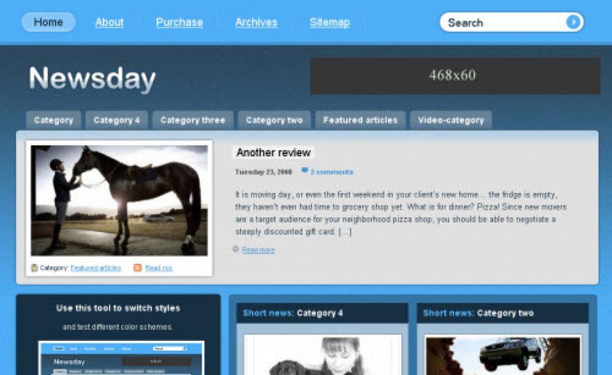 Newsday WordPress Theme