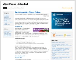 WP Unlimited Theme