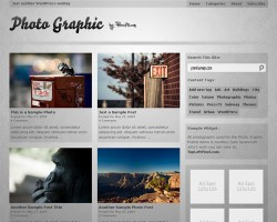 photo graphic wordpress theme