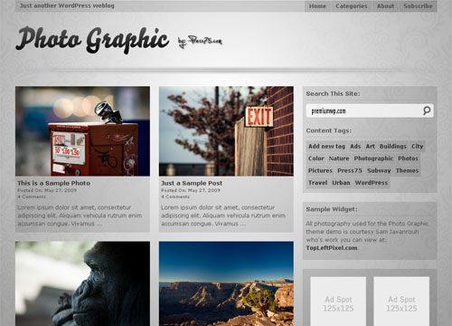 Photo Graphic WordPress Theme