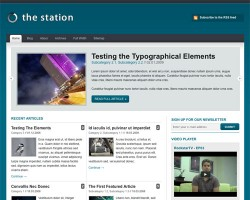 The Station Version 1.1 WordPress Theme