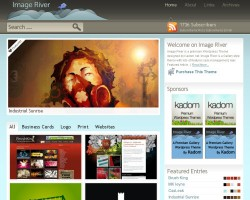 image river wordpress theme