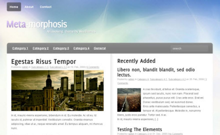 6 Great Free Premium WordPress Themes