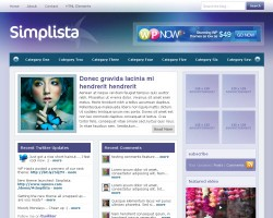 simplista wordpress theme