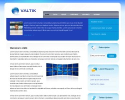 Valtik WordPress Theme