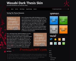 wasabi thesis theme skin