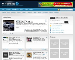 wp-prolific wordpress theme