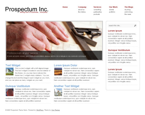 prospectum wordpress theme