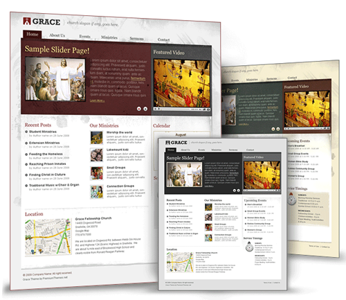 grace wordpress theme
