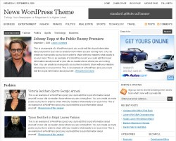 StudioPress News Premium WordPress Theme