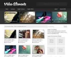 Video Elements 2.0 WordPress Theme