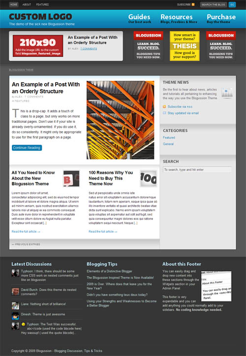 what is thesis wordpress theme Update nov 2012: since this article was written, i have now switched to the genesis prose theme and couldn't be happier with this mobile responsive design.