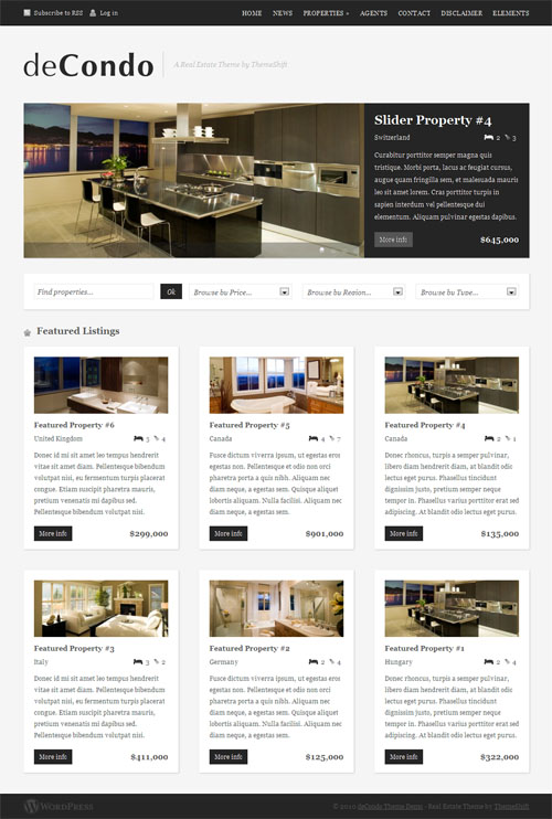 decondo wordpress theme