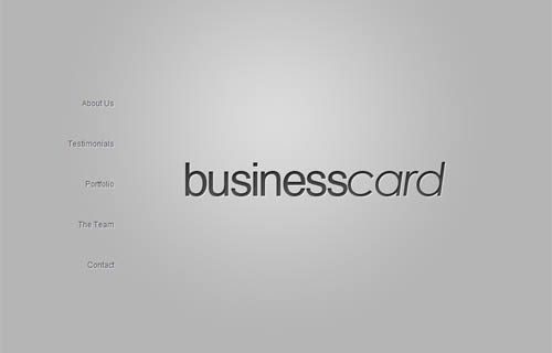 Business card premium wordpress theme reheart Gallery