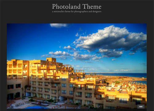 Photoland Premium WordPress Theme