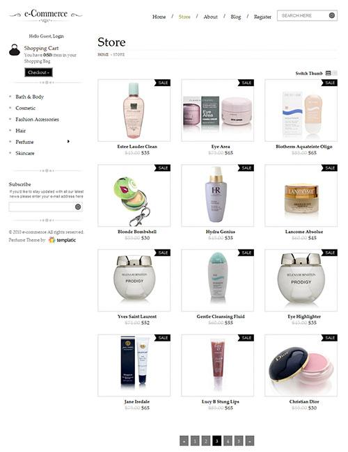 E-Commerce Premium WordPress Theme