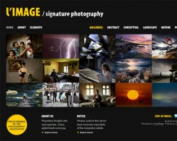 L'Image Photography WordPress Theme
