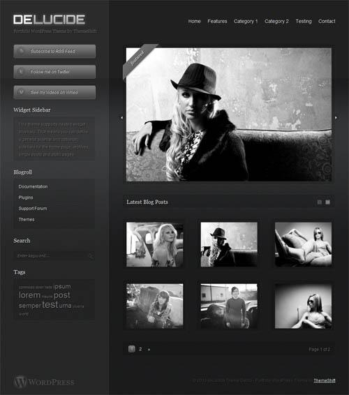 DeLucide Portfolio Premium WordPress Theme