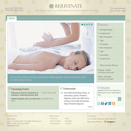 rejevenate wordpress theme