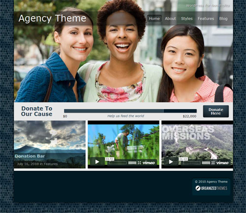 Agency Premium WordPress Theme