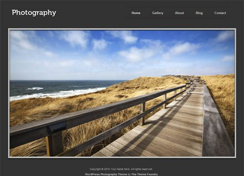 Photography Premium WordPress Theme