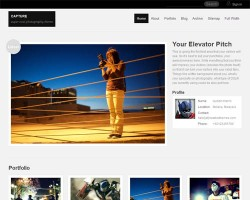 Capture Photography WordPress Theme