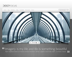Deep Focus Premium WordPress Theme