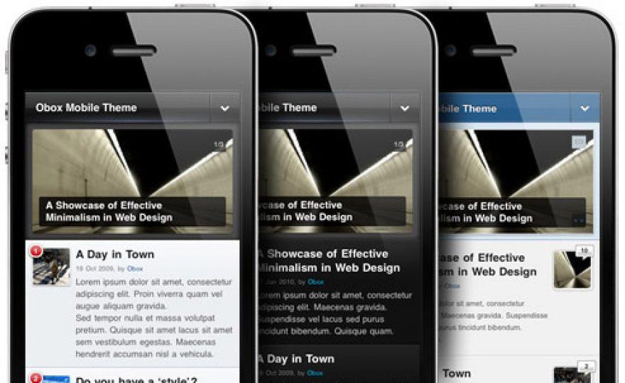 Obox Mobile: WordPress Mobile Plugin / Mobile Theme Framework