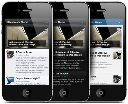 OBOX móvil marco temático