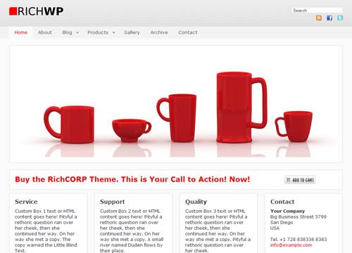 RichCorp Premium WordPress Theme