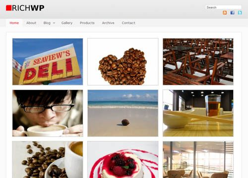 RichWP Photo WordPress Premium Theme